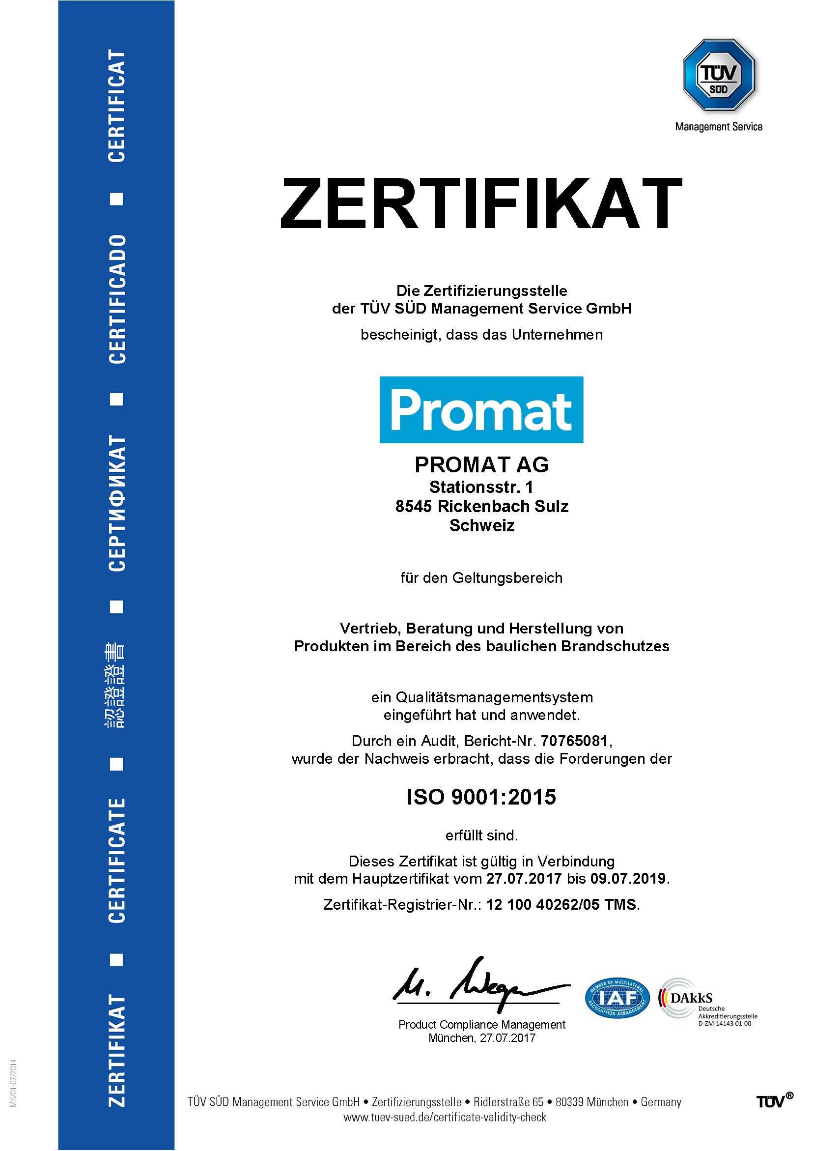 Promat Website